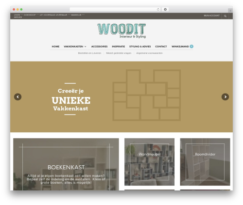 WP theme The Retailer - woodit.nl