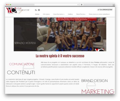 Customizr template WordPress free - yourcom.it