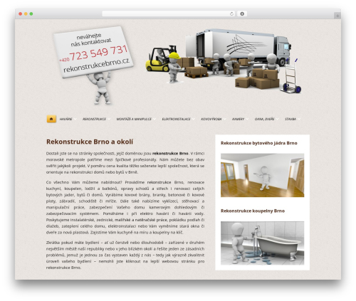 WordPress baslider plugin - rekonstrukcebrno.cz