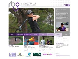 Rachel Bailey Mobile WordPress template