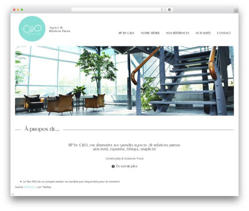 Template WordPress StrapPress - rpbyco.com