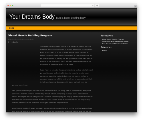Theme WordPress Layers - yourdreamsbody.com