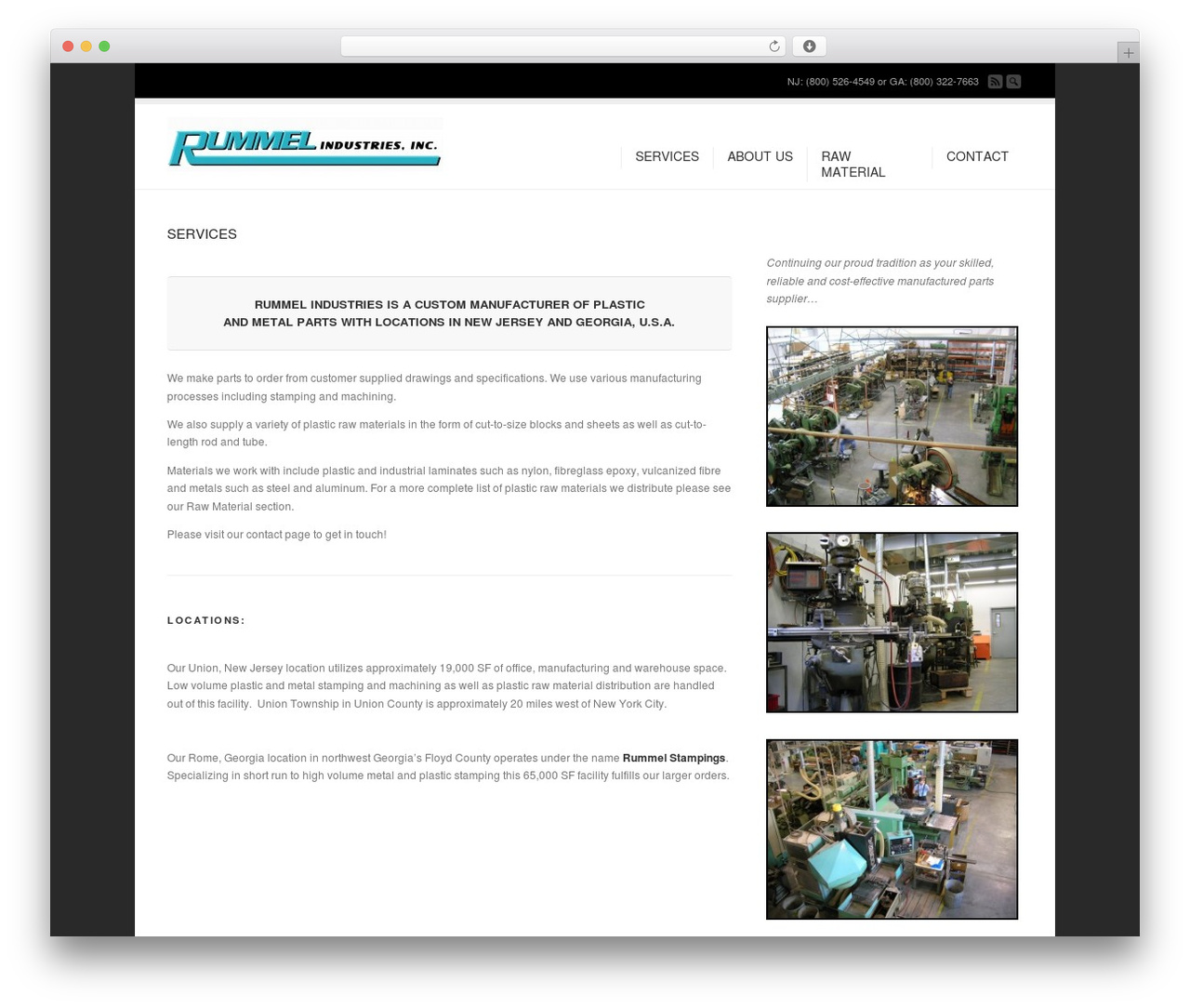 Corona theme WordPress - rummelindustries.com