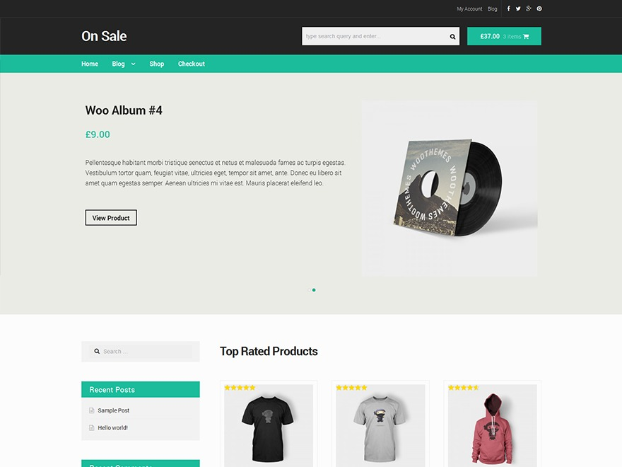ON SALE WordPress store theme