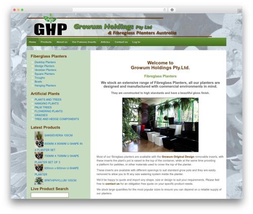 Responsive template WordPress free - r.growum.com.au