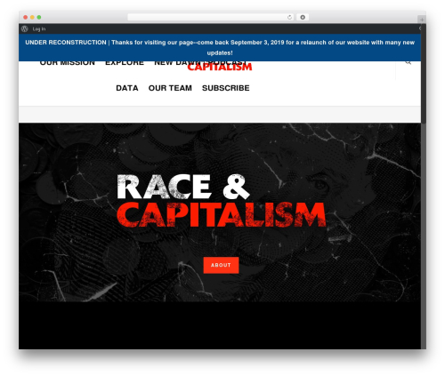 Salient WordPress template - raceandcapitalism.com