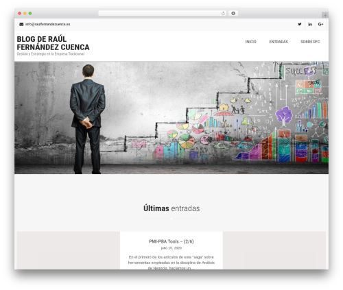 Free WordPress News Manager plugin - raulfernandezcuenca.es