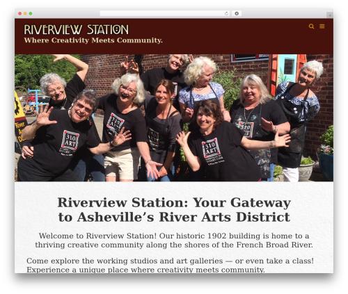 Theme WordPress Avada - riverviewstation.com