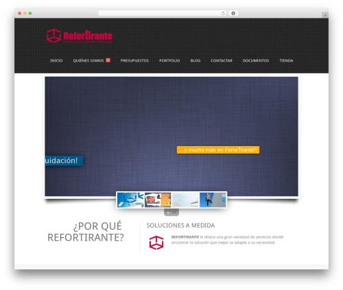 Theme WordPress Creativo 1.1 - refortirante.com