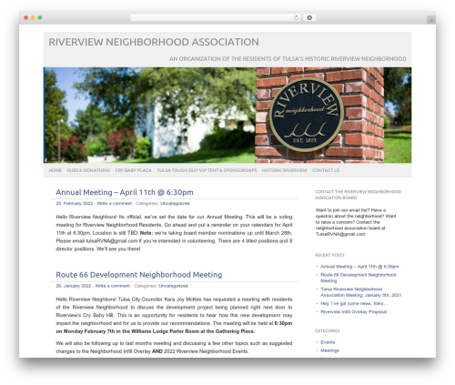 WordPress theme picolight - riverviewtulsa.com