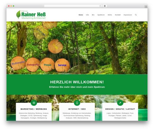 WP theme Enfold - rainerhess-marketing.de