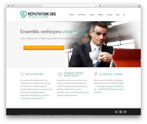 Avada best WordPress template - reputation365.eu