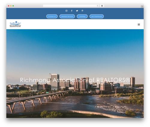 Avada WordPress template - rarealtors.com