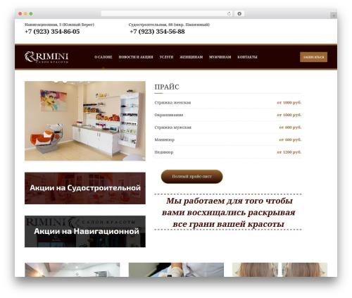 Barber - Wordpress Theme top WordPress theme - riminisalon.ru