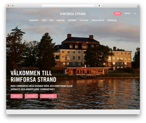Jupiter theme WordPress - rimforsastrand.se