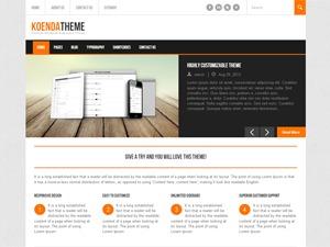 Koenda PRO 1.2 company WordPress theme