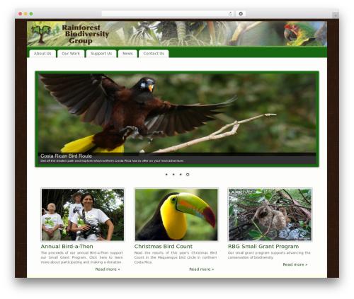 Free WordPress WP Simple Galleries plugin - rainforestbiodiversity.org