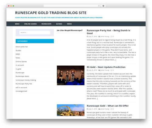 MH Magazine lite WordPress free download - runescapetrading.com