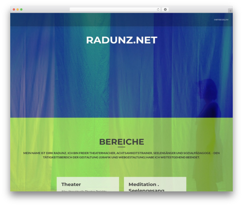 ResponsiveBoat WordPress website template - radunz.net