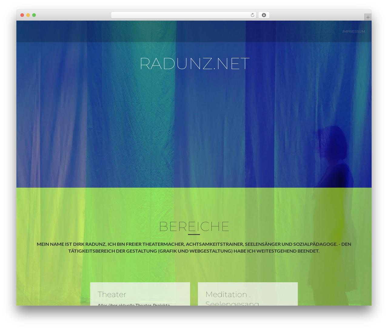 ResponsiveBoat WordPress website template - radunz.net