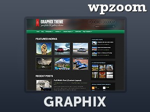 Template WordPress Graphix Theme