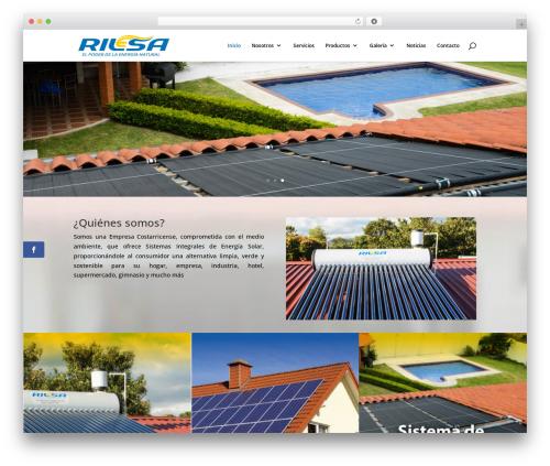 WP theme Divi - rilesacr.com