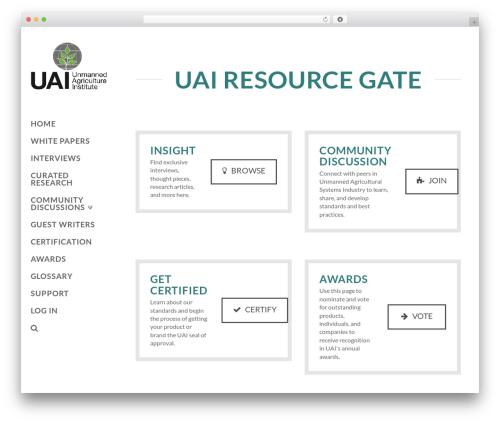 X premium WordPress theme - resourcegate.thinkuai.com