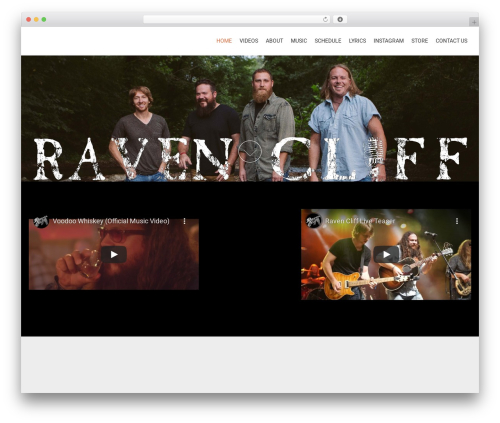 AccessPress Parallax newspaper WordPress theme - ravencliffmusic.com