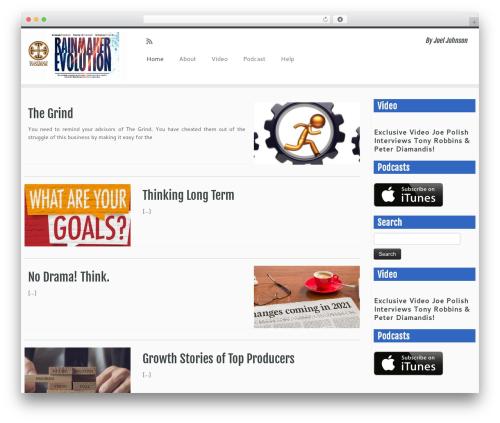 Customizr theme free download - rainmakerevolution.com