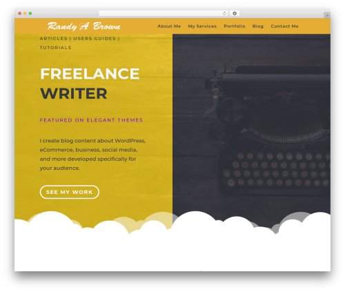 WordPress testify plugin - randyabrown.com