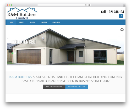 GoodSimple business WordPress theme - randmbuilders.co.nz
