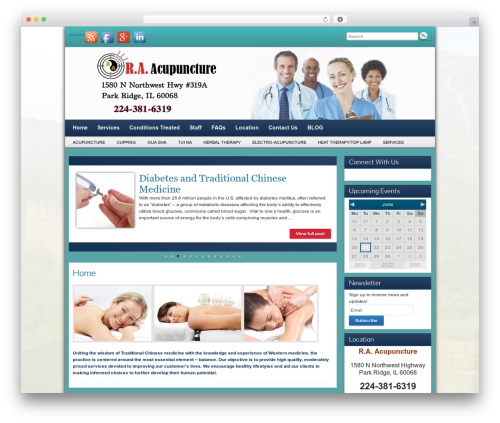 Free WordPress BigContact Contact Page plugin - raacupuncture.org