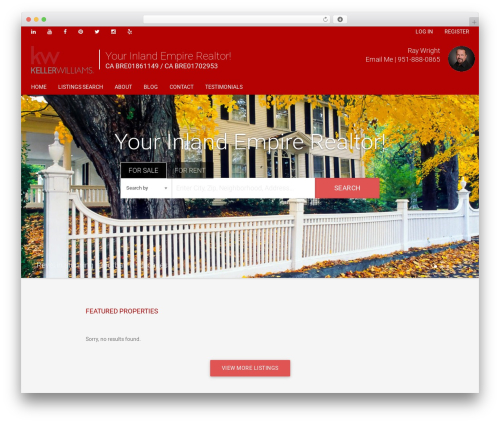 Madison WordPress theme - raywrightsellshomes.com