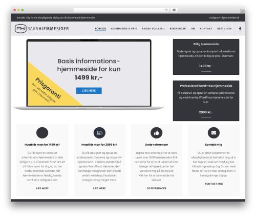 Movedo WordPress theme design - ravn-hjemmesider.dk