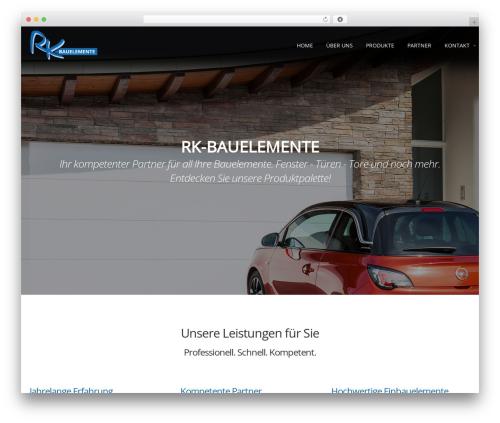 Free WordPress Themify Builder Lite plugin - rk-bauelemente.de