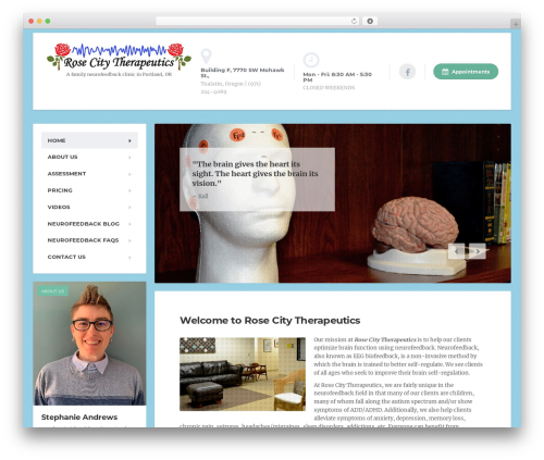 Theme WordPress MentalPress WP Theme - rosecitytherapeutics.com