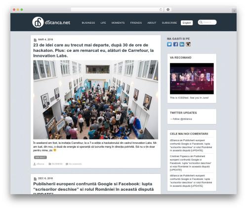 Theme WordPress Postline - ro.dstanca.net