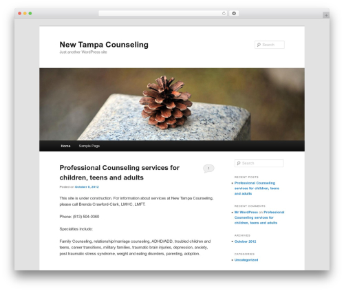 Twenty Eleven WordPress template free download - relationshipfix.com