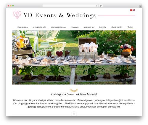 Wedding Suite WordPress template - yurtdisindadugun.com