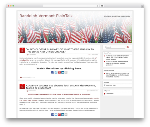 Free WordPress FancyBox plugin - randolphvtplaintalk.com