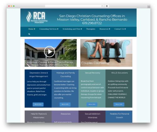 X WordPress theme - rcacounseling.com