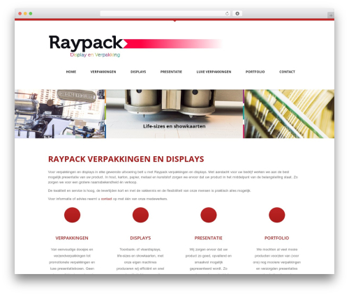 Anps's Coolblue theme WordPress - raypack.nl