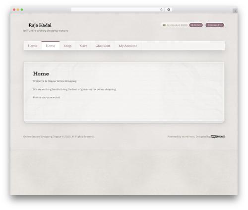 Artificer WP template - rajakadai.com