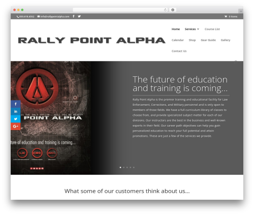 Free WordPress Spider FAQ plugin - rallypointalpha.com