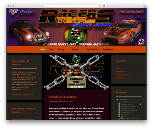 Forefront theme WordPress free - racersteam.es