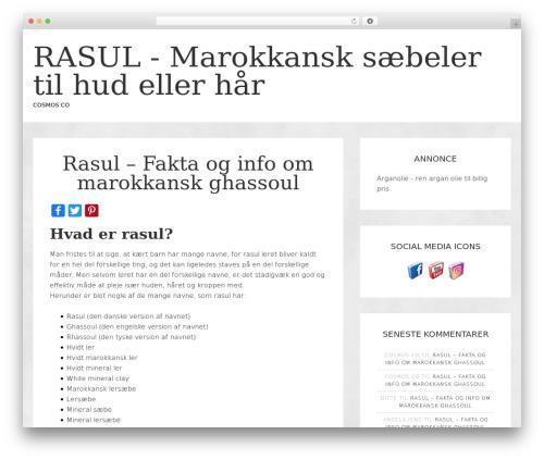 jane WordPress theme - rasul.dk