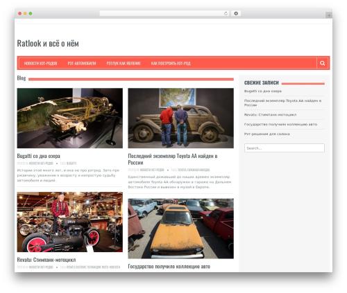 Resolution best WordPress theme - ratcar.ru