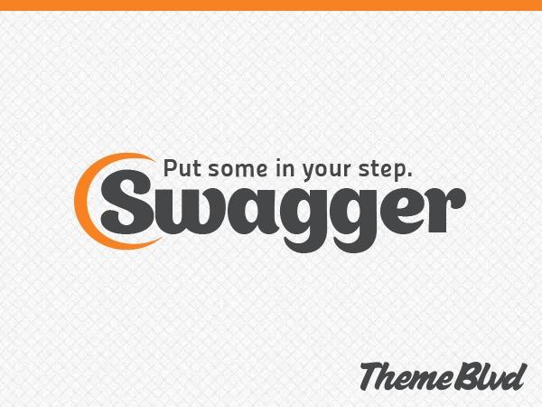 Swagger theme WordPress portfolio