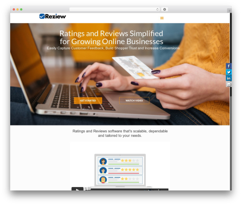 Free WordPress Fuse Social Floating Sidebar plugin - reziew.com