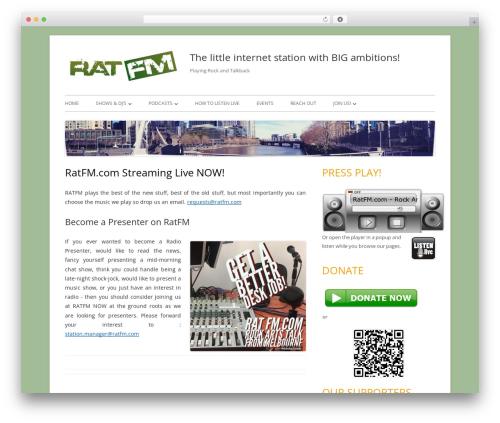 Free WordPress Podlove Podcast Publisher plugin - ratfm.com